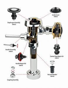 Sloan Regal Flush Valve Parts Diagram
