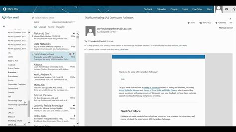 create folders to organize your office 365 outlook