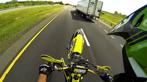 check out the craziest wheelies from the awesome light out biker escapes while doing wheelies