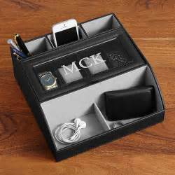 Dresser Valet Charging Station by 10th Anniversary For Men Gifts Com