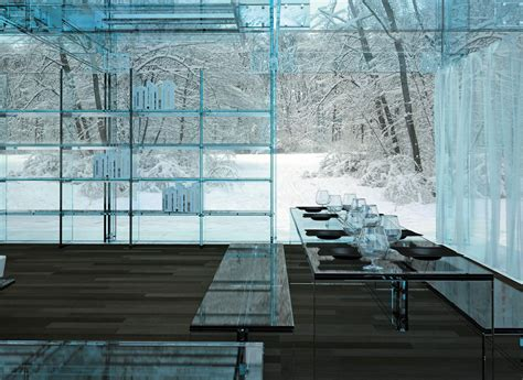 interior design with glass glass houses by santambrogio milano architecture design