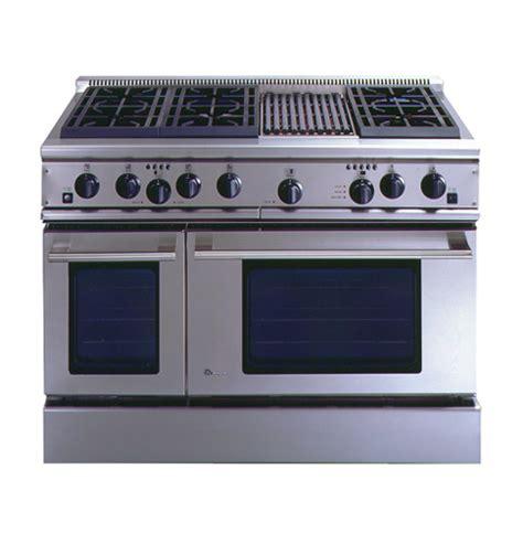 zdpnrwss ge monogram  professional range   burners  grill natural gas