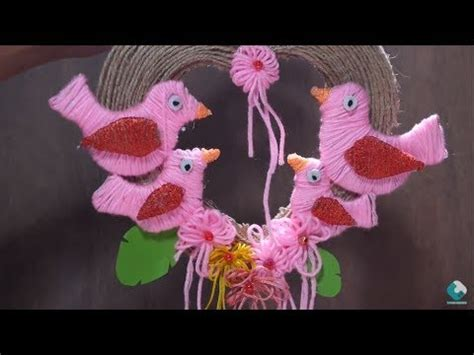 diy recycled decoration idea for hang on ceiling diy wall decor how to make ceiling hanging bird decorations wall hanging decoration