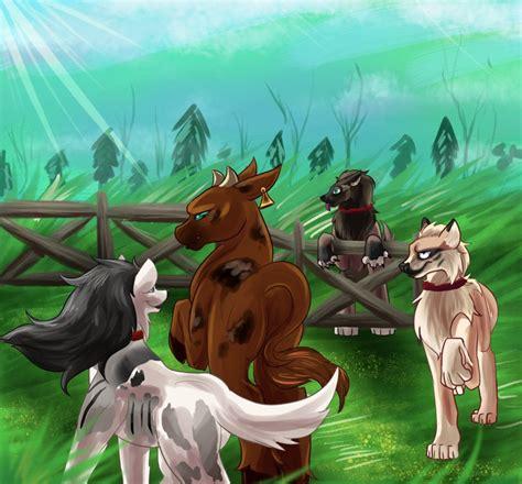 harshest judge   cattle  glitchdove  deviantart