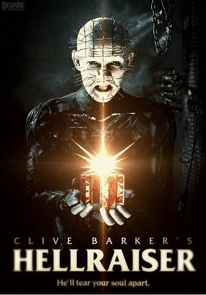 Horror Posters Poster Hellraiser Animated Movies Film