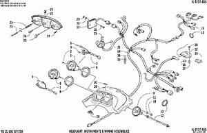 Headlight Instruments And Wiring Assemblies  U0434 U043b U044f Zl 800 Efi