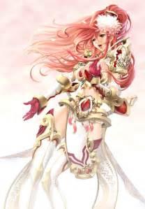 Beautiful Anime Girl in Armor