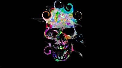 Skull Colorful Wallpapers Dark 4k Backgrounds Desktop