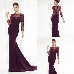 Women Dress Evening Long Elegant Plus Size Prom Dresses ...