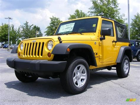 yellow jeep interior 2009 detonator yellow jeep wrangler x 4x4 11891970
