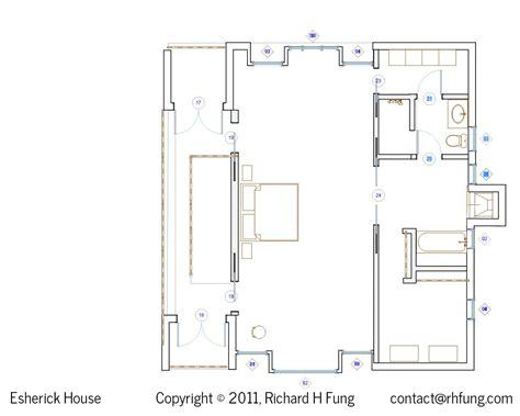 blueprint house plans richard h fung esherick house