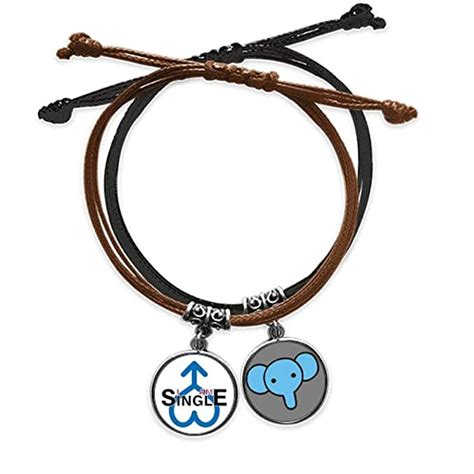Now a couple of words about icici bank. Buy offbb Status Single Man Art Deco Gift Fashion Bracelet Rope Hand Chain Leather Elephant ...