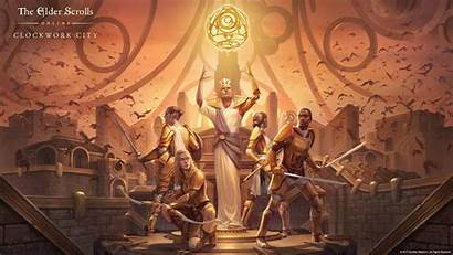 Clockwork Elder Scrolls Dlc Wallpapers Morrowind Trailer