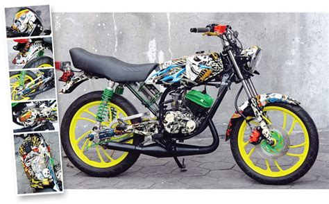 Yamaha Rx Spesial Modifikasi by Modifikasi Yamaha Rx S Spesial
