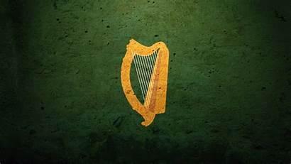Arms Desktop Harp Irish Ireland Flag Coat