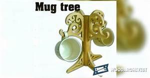 Mug Tree Plans • WoodArchivist