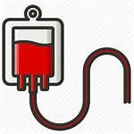 Blood Bag Clipart Transfusion Icon Human Transparent