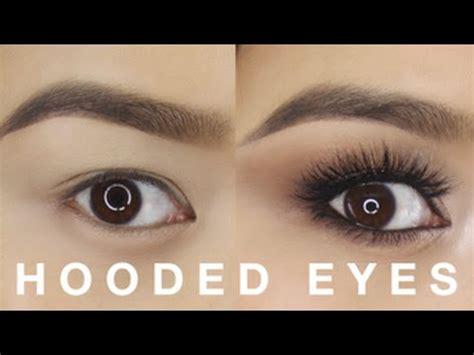 hooded eyes makeup tutorial youtube
