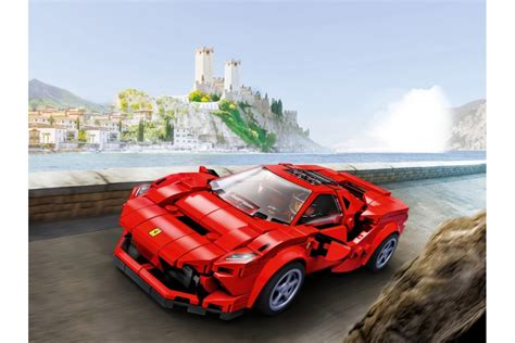 This f8 tributo toy model car has the same beautiful design as the original, which boasts the fastest v8 engine in ferrari's history. 76895 Ferrari F8 Tributo Lego Speed Champions