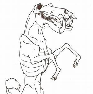 Animal Skull Line Drawing | www.imgkid.com - The Image Kid ...