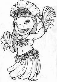 Lilo And Stitch Ohana Coloring Pages