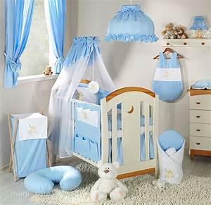 chambre bebe deco garcon avec parure lit brodee 6 p ours With déco chambre bébé pas cher avec parure lit fleurs