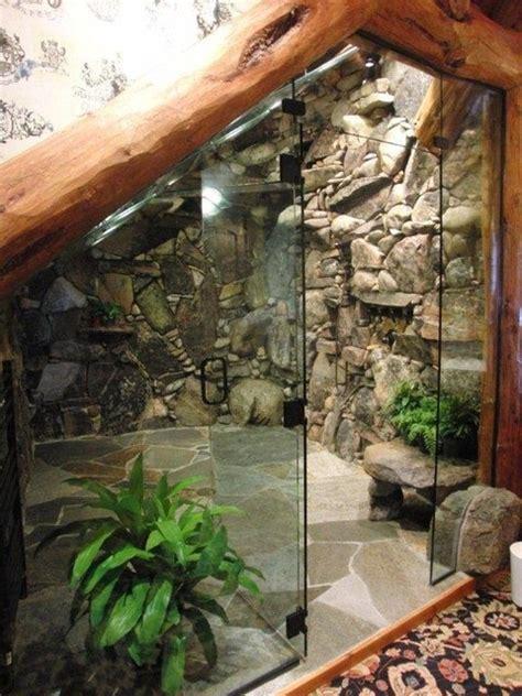 waterfall shower tropical bathroom tampa
