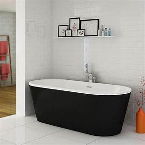Windsor Brooklyn Black 1690 X 790mm Double Ended