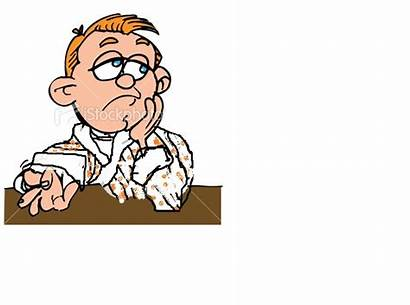 Bored Cartoon Clipart Face Clip Person Im