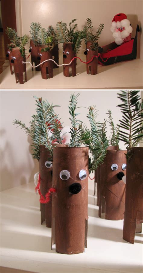 toilet paper roll christmas crafts new calendar template