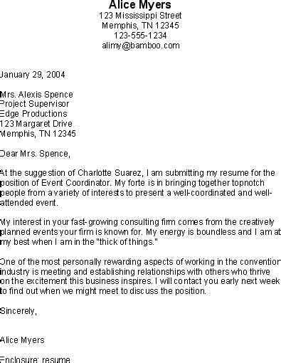 Award Winning Cover Letters by Cover Letter Cover Letter Exles Cover Letter Exles