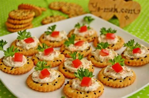 canapes recipes spicy cheese canapes recipe recipes from