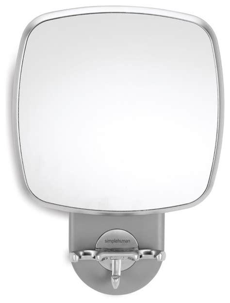 Anti Fog Mirror Bathroom by Wall Mount Shower Mirror Anti Fog Modern Bathroom