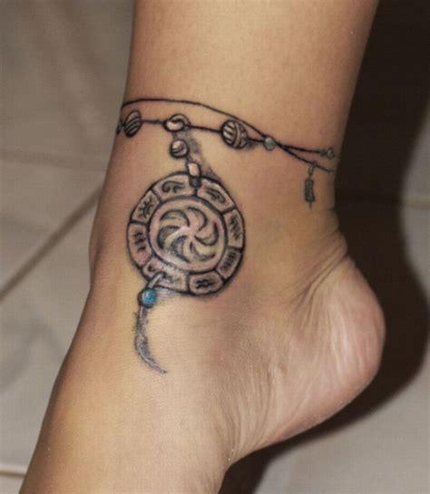 1001+ Idées  Tatouage Bracelet Cheville  Le Tattoo à La