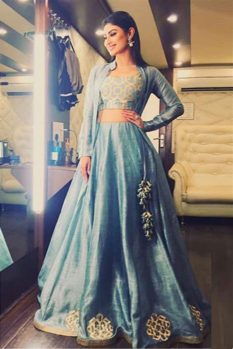 Mouni Roy Banglori Silk Jacket Lehenga In Teal Blue Colour Watermelon Wallpaper Rainbow Find Free HD for Desktop [freshlhys.tk]