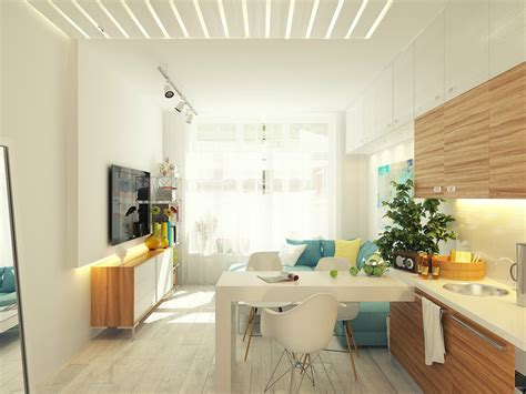 Small 29 Square Meter 312 Sq Ft Apartment Design by Small 29 Square Meter 312 Sq Ft Apartment Design Home