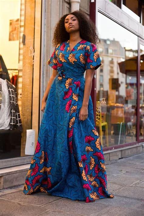 modele wax femme 30 photos de la robe africaine chic