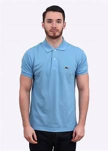Lacoste Short Sleeve Logo Polo Shirt - Light Blue