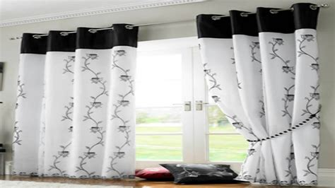 black white red curtains black  white kitchen curtains