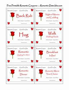 romantic love coupon printable free romantic printables With romantic coupon book template