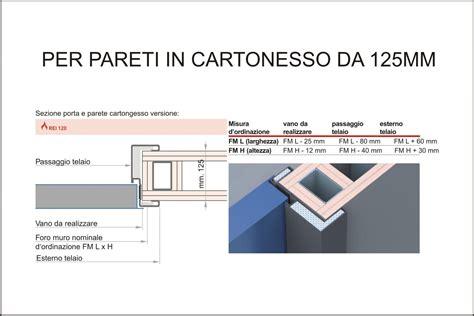 Controsoffitti Rei 120 by Porte Tagliafuoco Rei 120 Per Pareti In Cartongesso Da 125