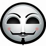 Icon Halloween Guy Fawkes Mask Avatar Icons