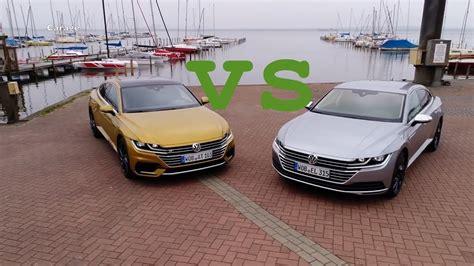 Volkswagen Arteon R 2020 by 2020 Volkswagen Arteon Elegance Vs Arteon R Line 2019