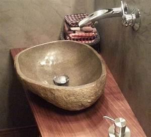 Waschbecken 40 Cm : waschbecken aus naturstein innen poliert 40 cm g nstig kaufen ~ Indierocktalk.com Haus und Dekorationen