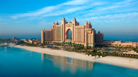 Full Hd Wallpaper Atlantis Hotel Dubai Persian Gulf Wonder