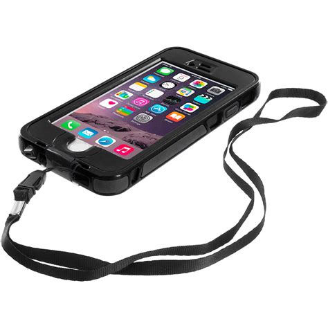 iphone 6 plus waterproof black waterproof shockproof dirtproof protection