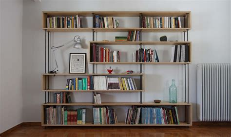 Plywood Bookcase by Plywood Bookcase Architecture