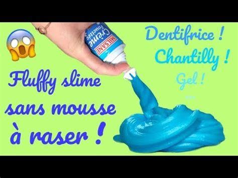 comment faire du fluffy slime sans mousse a raser astuces slime reva ytb