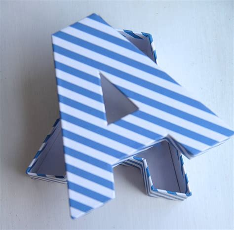 box letter a alphabet a z gift boxes by letteroom notonthehighstreet