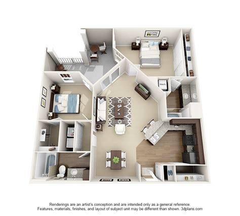 2 Bedroom Apartment Newcastle by 32 Beautiful Floor Plan 2 Bedroom Apartment Design